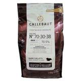 Callets Callebaut Amargo 70,5% 2,5kg