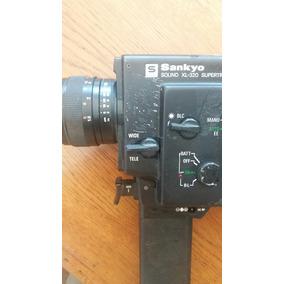 Antigua Filmadora Super 8 Sankyo Japonesa