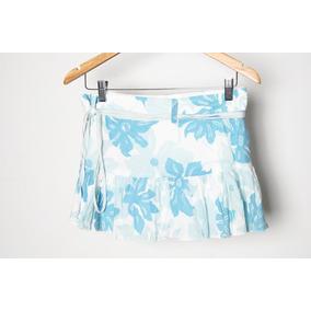 Minifalda De Algodón
