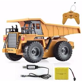 Caminhão De Controle Remoto Caçamba Basculante Rc 6 Ch