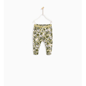 Pantalon Bebe Nena Talle 6-9m Baby Zara