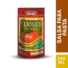 Salsa Para Pastas Tomate Y Albahaca Doypack 340 G Heinz