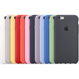 Fundas Apple Silicona Case Iphone 5s 6 6s 7 8 Plus + Templdo