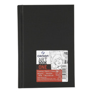 Caderno Sketchbook Canson Artbook One 100g A6 98 Folhas