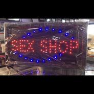 Placa Luminoso Quadro Led Letreiro Luminária Decoração Loja