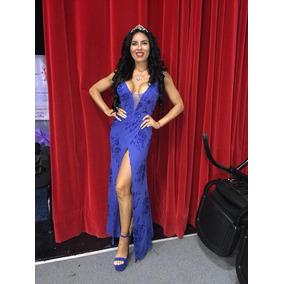 Vestido Largo De Fiesta Marca Paz Cornu Modelo Kelly