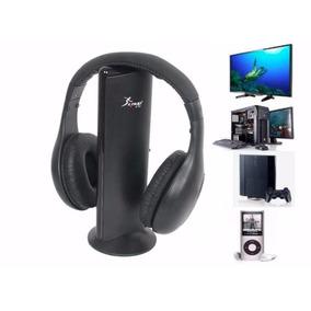 Fone Ouvido Headphone Wireless 5x1 Sem Fio Pc Smart Tv