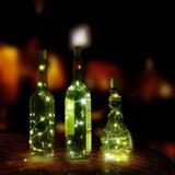 Corcho Decorativo Luz Led Para Botellas A Prueba De Agua