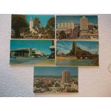 3303- Lote 5 Postales Chubut, Trelew, Foto Liz