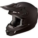Capacete Asw Motocross M-58 Preto Fosco