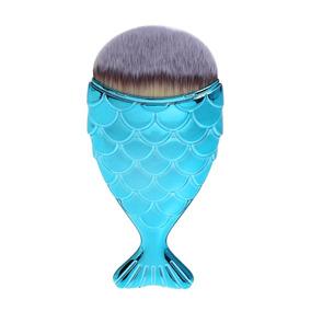 Pincéis Maquiagem Pincel Sereia Peixe Contorno Mermaid