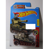 Tanknator Tanque Guerra Coleccion Hot Wheels M7