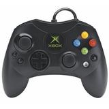 Control Xbox Clasico Negro Alambrico Con Cable Nuevo Blister