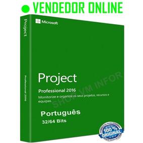 Ms Project Professional 2016 - 32/64 Bits - Promoção + Curso