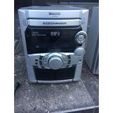 Mini Componente Stereo Panasonic Mp3, Doble Cassetera