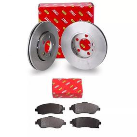 Kit Disco + Pastilha Freio Ecosport 2003 A 2012 Trw
