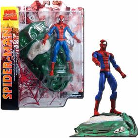 Boneco Spider-man Marvel Diamond Select Homem Aranha Lacrado