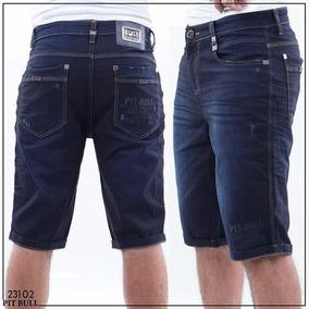 Bermuda Pit Bull Jeans Masculina Ref 23102