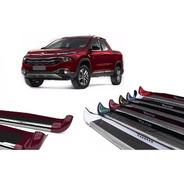 Estribo Personalizado Vermelho Tribal Fiat Toro 2016 2020