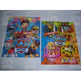 Libros Colorear Bolos Regalo Articulos Fiesta Paw Patrol