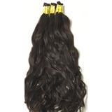 Aplique Cabelo Humano Natural Mega Hair 60/65cm - 120 Gr