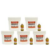 Borracha De Silicone Bx38001 Molde Super Resistente 21 Kg