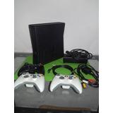 Xbox 360 Slim + Guitar Hero Y Guitarra