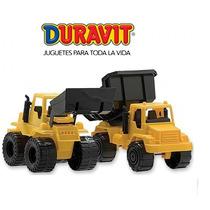 Set Constructor Excavadora Y Camion Volcador Duravit Oferton