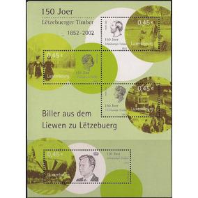 Luxemburgo - 150 Anos Do Primeiro Selo Do País - Bloco Nnn