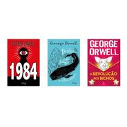 Kit 3 Livros Revolução Dos Bichos + 1984 + Dentro Da Baleia