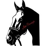 Adesivo Cavalo Negro
