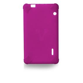 Vorago Funda Tablet 7 Pulgadas Goma Resistente Tc-124 Rosa