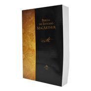 Biblia De Estudio Macarthur Tapa Rústica