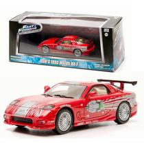 Rapido Y Furioso Dom´s 1993 Mazda Rx-7 Greenlight 1:43