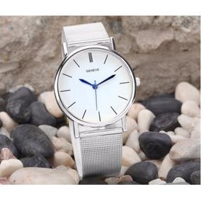 Elegante Reloj Correa Metalica,