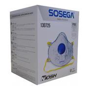 Respirador N95 Con Filtro Carbon Activado Tapabocas Cj X 10u