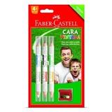 Lápis Para Pintura Facial Cara Pintada 210306pf Faber