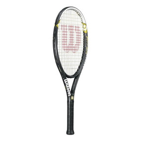 Wilson Hyper Hammer 5.3 Raqueta De Tenis Encordada (negro /