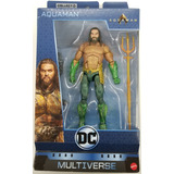 Figura Muñeco Aquaman Dc Multiverse Trench Warrior Baf 2018
