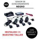 Sensor Estacionamiento Negro Con Display Y Sonido Instalado