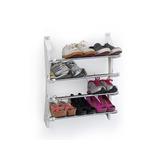 Suporte De Sapatos Tenis E Sandalhas Retratil De Porta