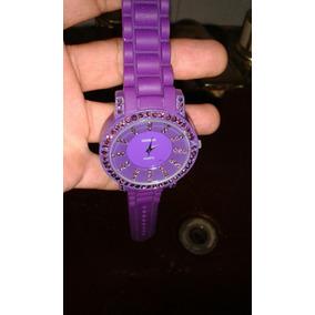 ba38581b56e Relogios Geneva Esportivos Pulseira Silicone Quartz - Relógios De ...