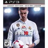 Juego Ps3 Sony Fifa 2018 Legacy Edition ( Físico)
