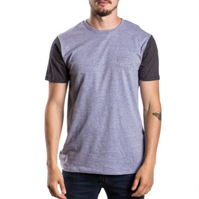 Remera Rusty After Office - Gris