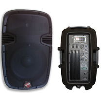 Caixa Ativa Prime Sound 12 - Pendrive - Bluetooth - 300w