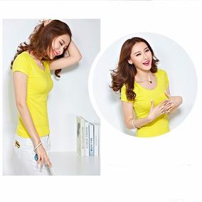 Kit 10 Blusas Femininas Camisetas Baby Look Atacado Revenda