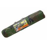 Barraca 3 Lugares - Camuflada Militar - Mor Camping Completa