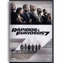 Rapidos Y Furiosos 7 Siete Vin Diesel Pelicula En Dvd