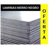 Laminas De Hierro Negro 3mm 1.20x2.40