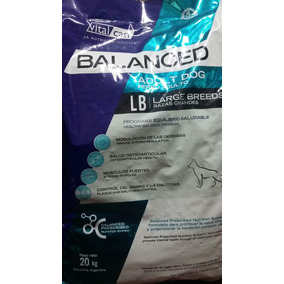 Vital Can Balanced Adulto X 23kg +comedero+palitos$819